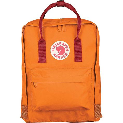 Fjallraven Kanken Classic Backpack Forest Green Ox Red *** You can find more details by visiting the image link.