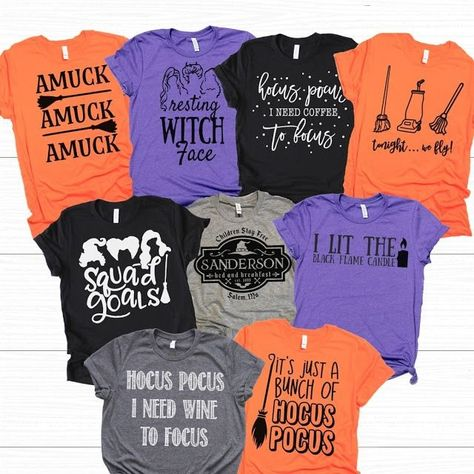 Amuck Witches Hocus Pocus T-Shirts #Amuck #Witches #HocusPocus #Halloween