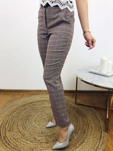Klasyczne Spodnie W Krate Fashion Pants