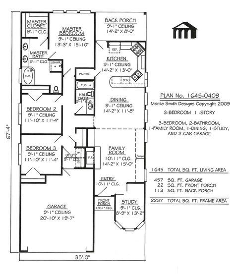 New House Plans One Story Narrow Car Garage Ideas Narrow House Plans Narrow Lot House Plans Unique House Plans