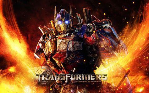 Transformer Optimus Prime Cybertron Dark Of The Moon Wallpaper