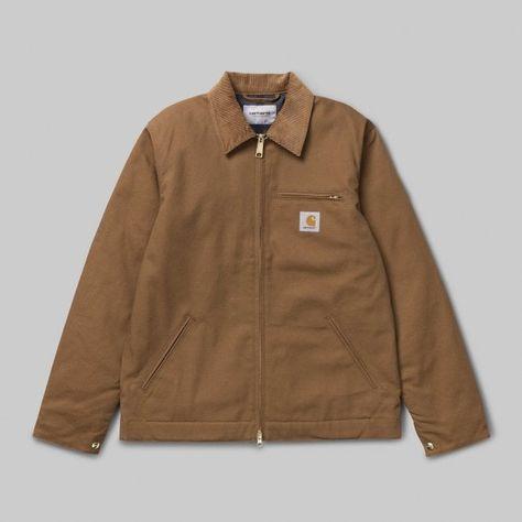 niska cena sprzedaży świetne dopasowanie szczegóły Carhartt WIP Carhartt WIP Detroit Jacket | Hamilton Brown ...