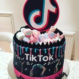 Tiktok Cake Ideas 12th Birthday Cake Birthday Cakes For Teens Candy Birthday Cakes