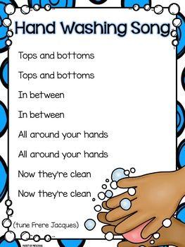 Hand Washing Routine, Book, Posters, & Song by Pocket of Preschool Kindergarten Songs, Preschool Music, Preschool Lessons, Preschool Classroom, Preschool Learning, Preschool Activities, Preschool Transitions, Transition Songs For Preschool, Circle Time Ideas For Preschool