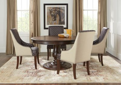 Victory Road 54 In Brown 5 Pc Dining Room Dining Room Sets