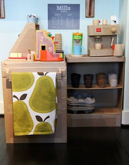Amazing Photo Gallery: Organizing Kidsu0027 Work U0026 Play Spaces | Cardboard Car, Play  Stations And Plays Idea