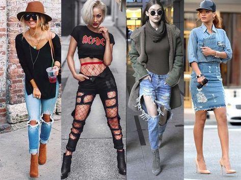 Damenmode Die Beste Zerrissene Jeans Outfits | Kotlar
