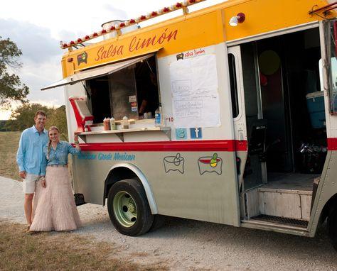 Food Truck Wedding Taco Texas Southwestern Ranch