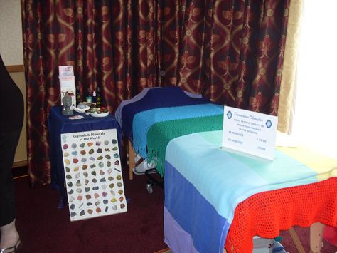 One of the earlier MBS Fairs I exhibited at when I was just doing treatments.  This one was in Newport organised by the lovely Linda Imm, who is sadly no longer with us.