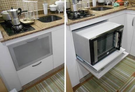 Resultado De Imagem Para Onde Colocar Forno Eletrico Na Cozinha