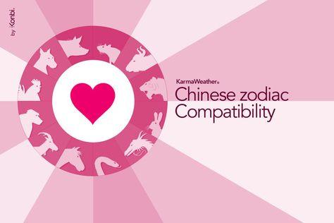 Chinese Zodiac Compatibility Birthday Chart Signs
