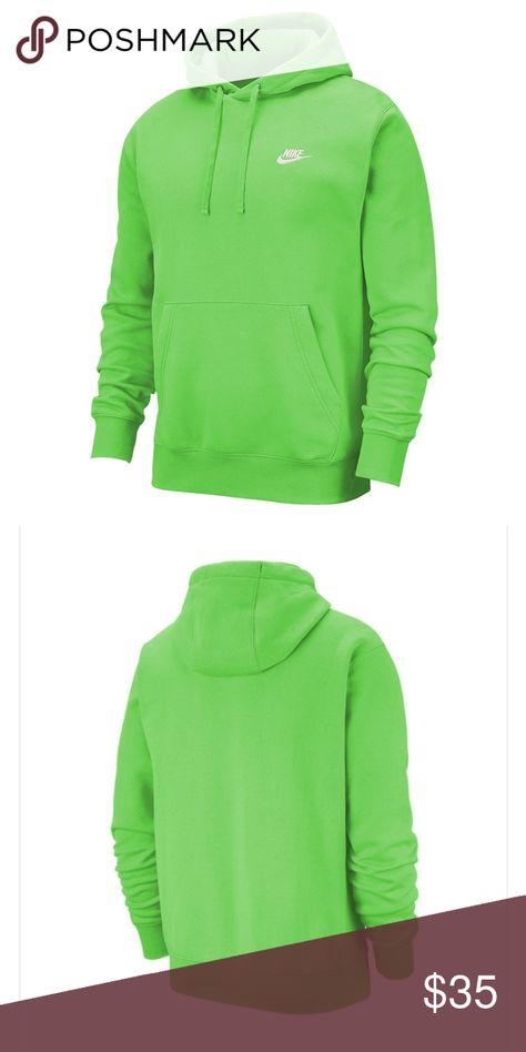 nike hoodie swoosh only