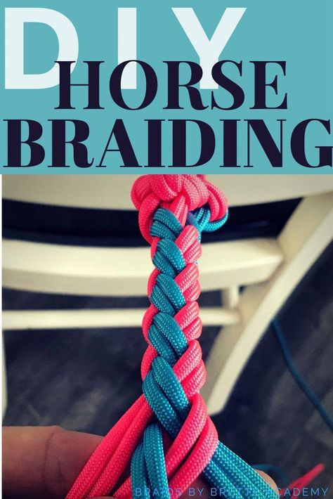 Are you someone who wants to learn how to custom make your own rope halter that fits any size horse. Looking to braid your own tack to save you money, or are a trainer who would like to use a rope halter properly. If your ready to learn Braids By Brette A #horsequotes