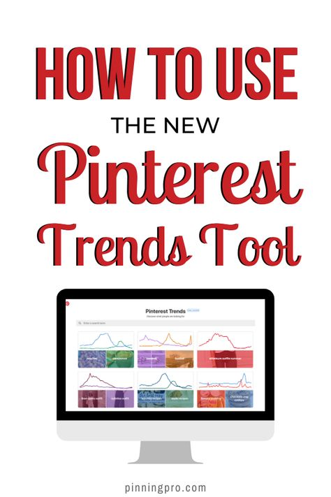 Using the new Pinterest trends tool is an insightful and efficient way to learn more about the audience that you're marketing your business to online. Learn how to use this powerful tool and how you can use the information that it provides to increase your traffic to your blog or website. #PinterestTips #PinterestMarketing #PinterestManager #PinterestMarketingIdeas # PinterestMarketingStrategy #PinningPro