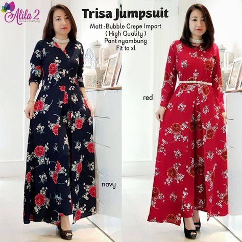 46 Model Tunik Batik Elegan Modern 2019 Model Baju Muslim