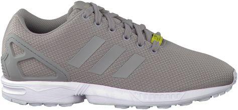 Grijze ADIDAS Sneakers ZX FLUX HEREN | Adidas sneakers ...