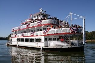 Harriott II Riverboat on the Alabama River, downtown Montgomery,  Alabama