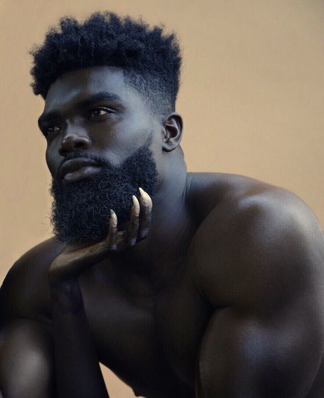 20 Captivating Black Men Hairstyles Ideas To Try Now Men In Black, Gorgeous Black Men, Beautiful Men, Black Muscle Men, Black Men Beards, Handsome Black Men, Black Men Hairstyles, Haircuts For Men, Black Haircut Styles