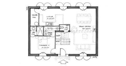 Plans De Maisons Igc Construction Plan Maison 4 Chambres Plan Maison 120m2 Plan Maison