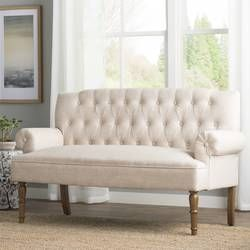 Hadley Chesterfield Settee Furniture Settee Upholstered Settee