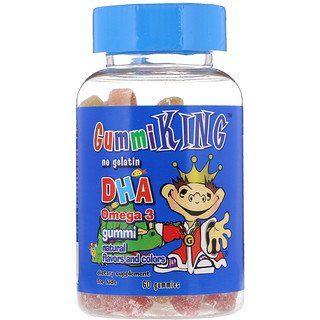 Gummiking Balinhas Com Dha Omega 3 Para Criancas 60 Balinhas Iherb Gummies Multivitamin Vitamins