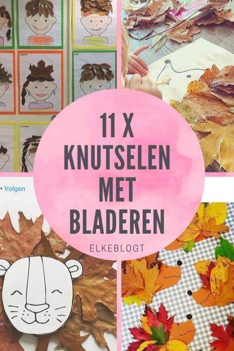 Quatang Gallery- 11 X Knutselen Met Bladeren Herfst Knutselen Kinderen Herfst Knutselen Knutselen Voor Kinderen