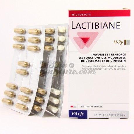 Pileje Lactibiane H Py Muqueuses Digestives 42 Gelules Commande