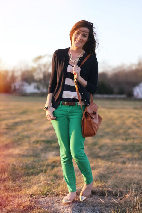 Classy Girls Wear Pearls: Spring Meadow Rush {Tank top is like a blousey material; generally I steer away from this style of cardigan, but go for it!