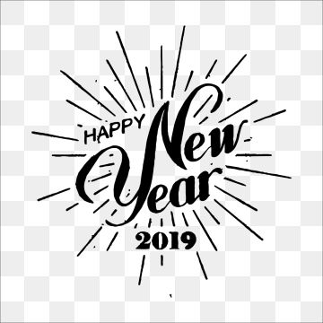 Millions Of Png Images Backgrounds And Vectors For Free Download Pngtree Letter Composition Happy New Year 2019 Lettering