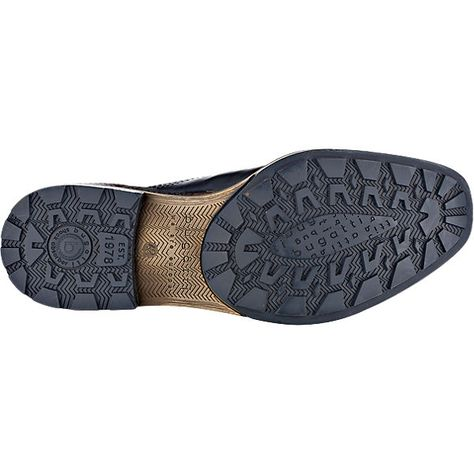 Magnanni Men's Luca Leather Lace Up Brown Wingtip Oxfords Shoes Size 11.5 D US