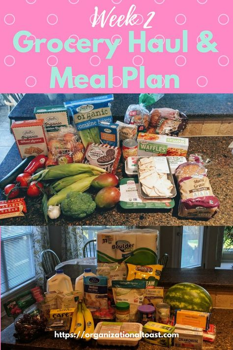 Grocery Haul and Meal Plan - Week 2 | Grocery Shopping Hacks