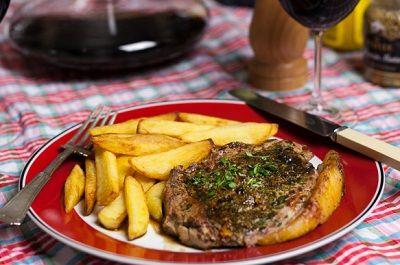 стейк из говядины в коньяке рецепты видио
