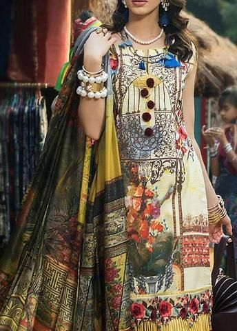 Ayesha Ibrahim Lawn Suit - Buy Online at Replica Zone
