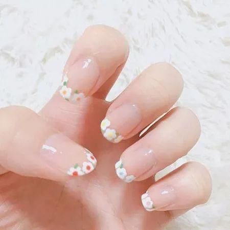 62 Summer Girls New Nail Styles Page 8 Of 62 Sunflower Nails