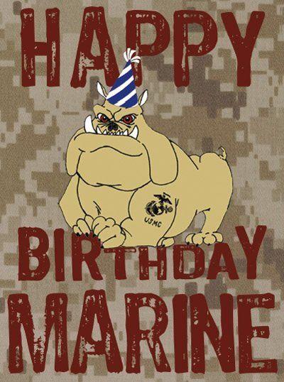 Happy Birthday Marines 2020 Message