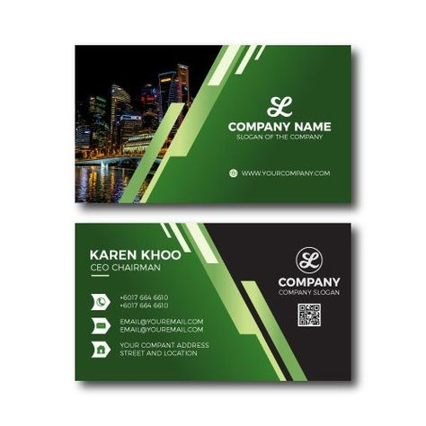 Gradient Business Card Super Creative Design Premium Download