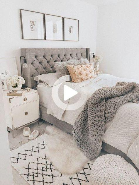 40以上の女子ベッドルームのためのコージーホームデコレーションのアイデア