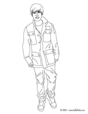 Justin Bieber Coloring Pages Coloring Pages Printable Di 2020