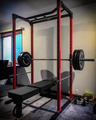 Rep Pr 1100 Home Gym Power Rack Home Gym Design Building A Home Gym Gym Room At Home