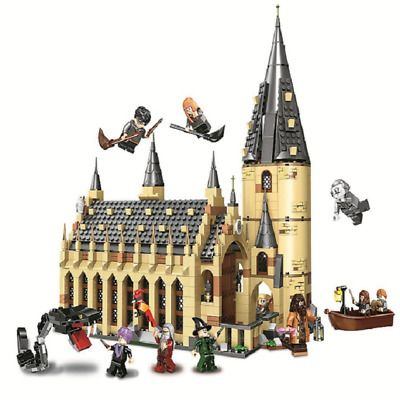 New Harry Potter Great Hall Castle Series Building Blocks Hogwarts With Figures Harrypotter Ha With Images Hogwarts Great Hall Harry Potter Hogwarts Castle Lego Hogwarts