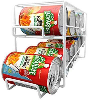 Neo Food Tin Can Dispenser For Cupboard Rack Holder Organiser