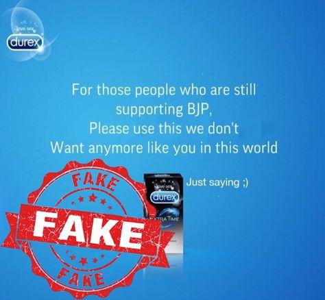 Fact Check: Durex no way related to JNU stir