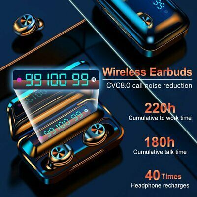 Audifonos Inalambricos Bluetooth 5 0 Earbuds Headphones Para For Iphone Samsung In 2020 Bluetooth Earbuds Wireless Wireless Earbuds Iphone