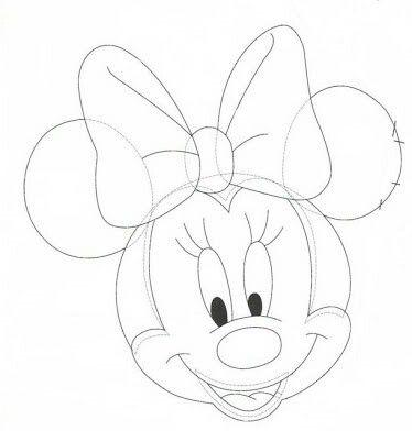 32 Minnie Maus Bastelvorlage Besten Bilder Von Ausmalbilder