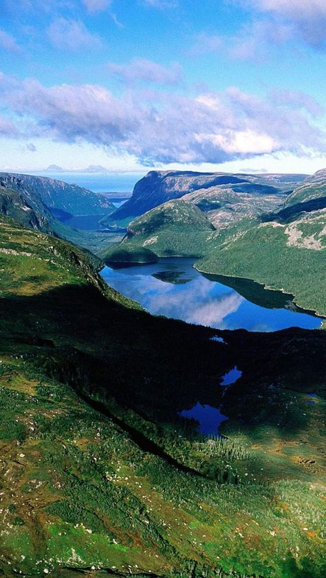 Gros Morne National Park, Coast, Newfoundland And Labrador, Canada.