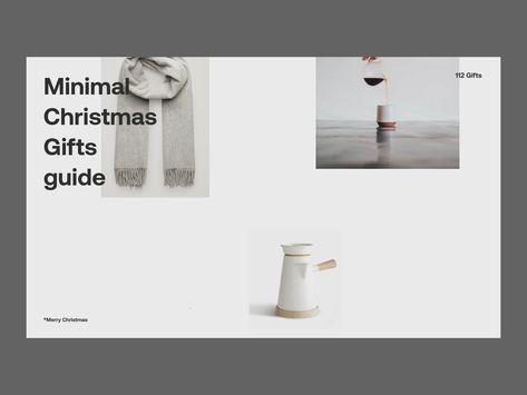 Minimal Christmas Gifts