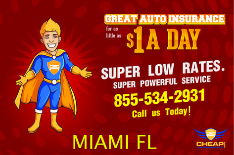 Cheap Car Insurance Miami Florida Stop Over Paying On Auto