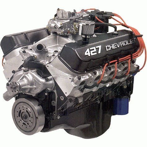 Chevrolet Performance Parts Cpszz427t56 Chevrolet Performance Zz427 480hp Crate Engine With T56 6 Speed 500 00 Reb Crate Engines Crate Motors Engineering