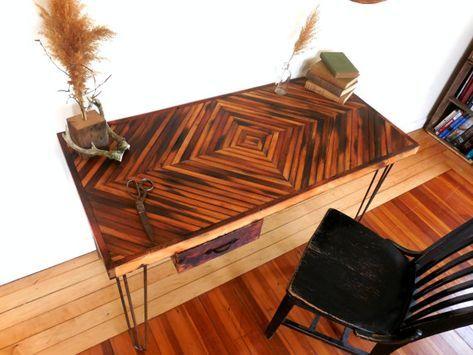 39 Best Ideas Reclaimed Wood Desk Top Diy Wood Desk Top Rustic Wood Floors Engineered Wood Floors