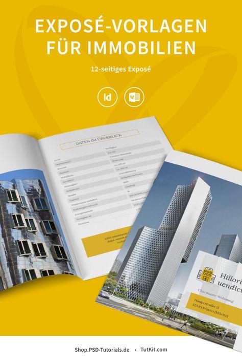 Immobilien Marketing Hochwertige Corporate Design Vorlagen